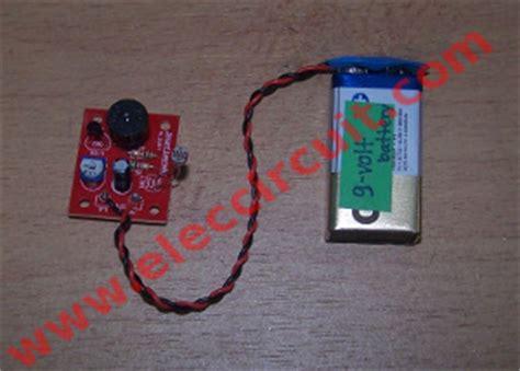 Refrigerator Door Alarm by Simple Refrigerator Door Alarm Circuit Eleccircuit