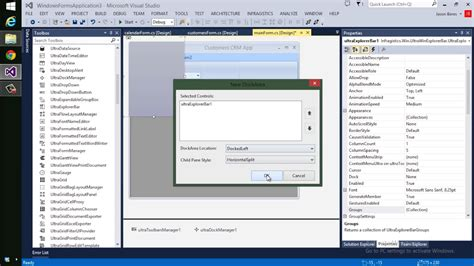 design windows application template building an office style ui in minutes with windows forms