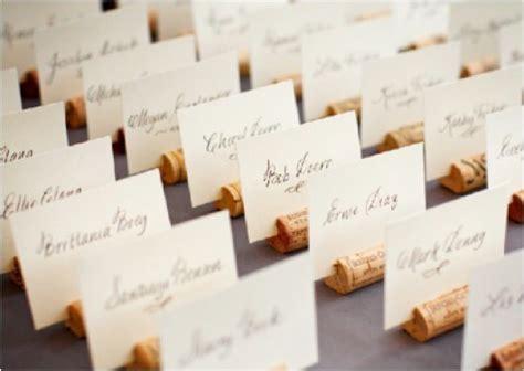 wine cork name card holders diy cork place card holders bridaltweet wedding forum