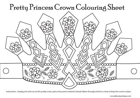 printable princess crown cut out princess crown template cut out