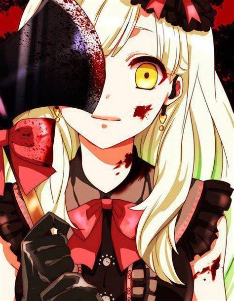 anime yandere yandere horror anime anime pinterest manga girl