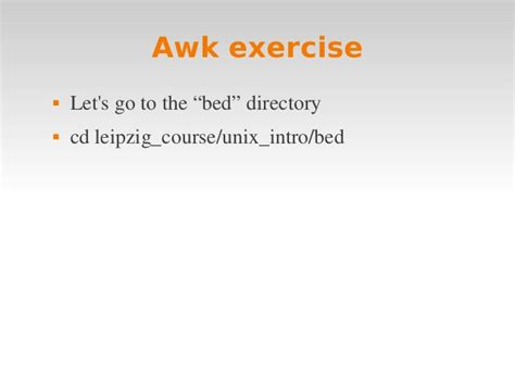pattern matching makefile linux intro 4 awk makefile