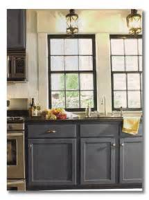 Blue Grey Kitchen Cabinets Dark Cabinets Blue Gray Fieldstone Hill Design