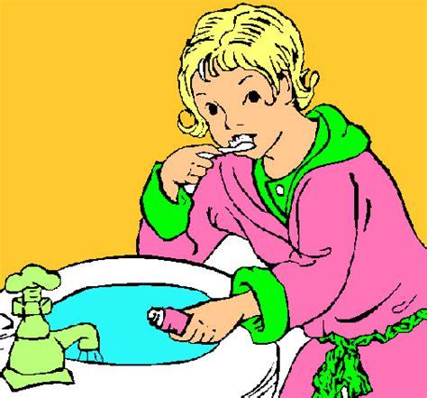 imagenes de niños lavandose los dientes ni 241 a lavandose colouring pages