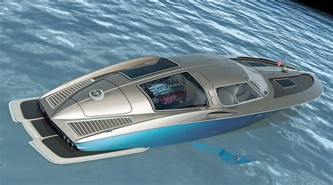 chevrolet corvette speed boat corvette speedboat concept captures the spirit of the