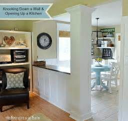 Kitchen Lighting Layout by Knocking Down A Load Bearing Wall And Opening Up The