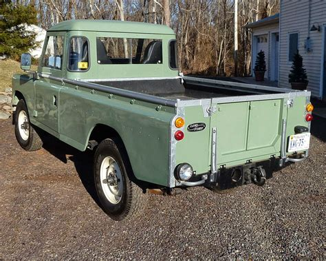 range rover pickup truck 1973 land rover pick up truck auto restorationice