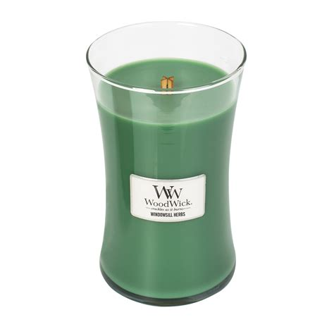 woodwork candles windowsill herbs woodwick candle 22 oz