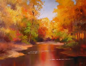 nel s everyday painting fall color sketch sold