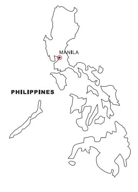 philippines map coloring pages coloring pages