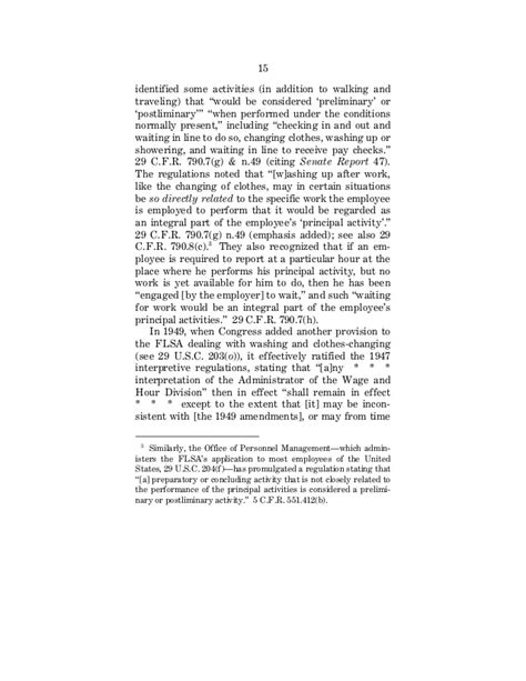 Integrity Staffing Background Check Integrity Staffing V Busk Annotated Us Amicus Brief