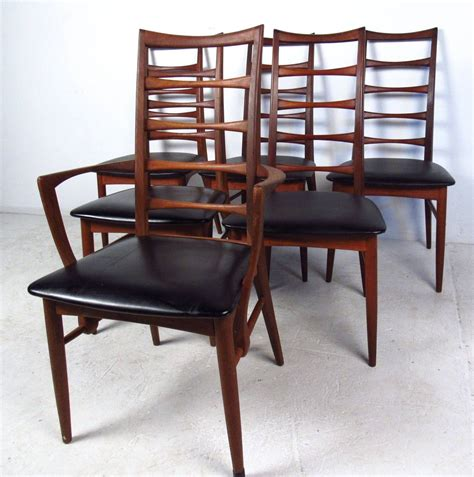 ladder back dining room chairs set of ladder back dining chairs by koefoeds hornslet for