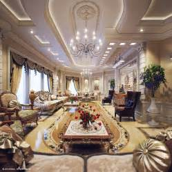 Luxury Living Rooms by Luxury Villa In Qatar Visualized