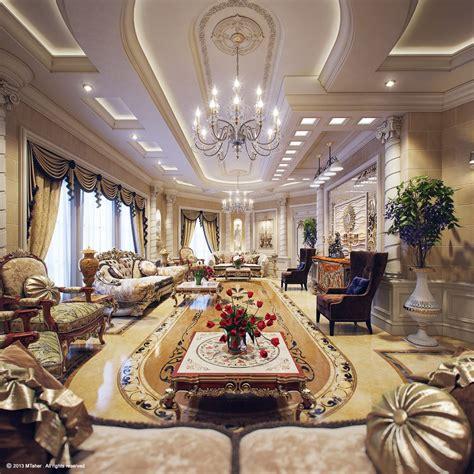 luxury villa  qatar visualized