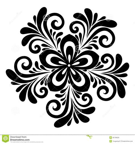 beautiful design beautiful floral pattern a design element in the old style royalty free stock photo image