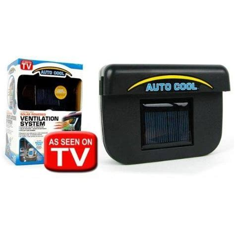 Pendingin Mobil Auto Cool Solar Powered Air Ventilation Unik auto cool solar powered ventilation system silicon pk
