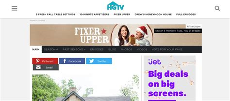 Fixer Upper Streaming | hgtv live stream usa