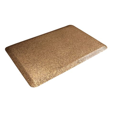 Wellness Mats 3 ft x 2 ft Comfort Mat (Granite Copper) on