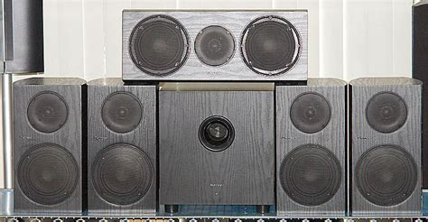 pioneer 5 1 channel bookshelf speaker system photos