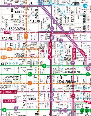 san francisco map of chinatown chinatown map san francisco michigan map
