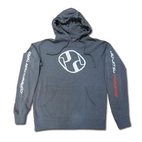 Hoodie Triump United Jiu Jitsu jiu jitsu pro gear competition team hoodie grey