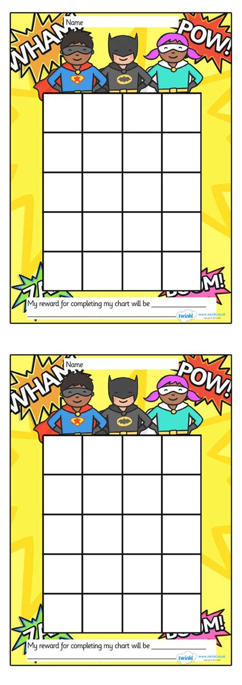 free printable incentive charts for school rewards chart sticker chart and charts on pinterest