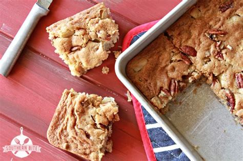 apple pie bars recipes barefoot contessa brown sugar apple blondies recipe sleeve read more