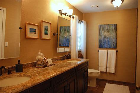 black and blue bathroom decor interior design brown vinyl grasscloth paint 2015
