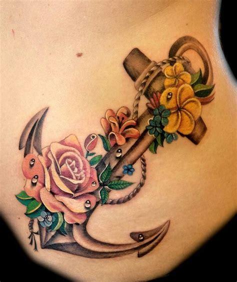anchor flower tattoo designs 15 anchor designs you won t miss pretty designs