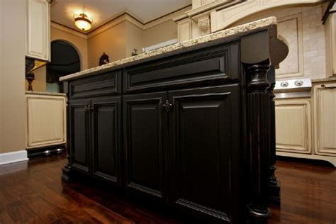 Pics Of Kitchens With Black Cabinets Antique Black Kitchen Cabinets Pictures Furniture Design