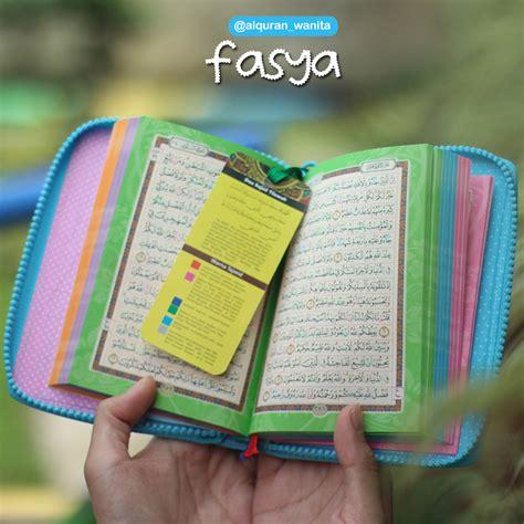Al Quran Tajwid Arrayan Madina Grey harga alquran kecil murah rainbow madina fasya terbaru