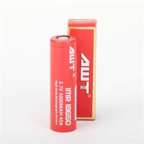 Battery Awt Merah 40a 3000mah awt 18650 40a 3000mah battery esutta