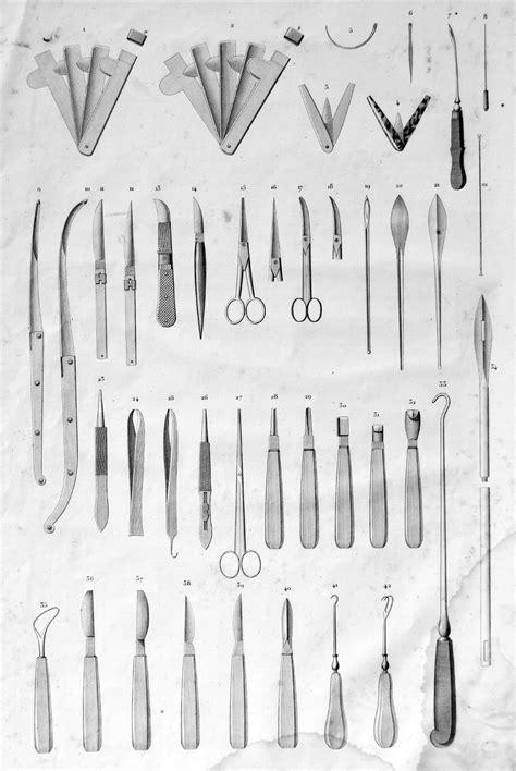 Panorama des instruments vétérinaires jusqu'aux xviiie et