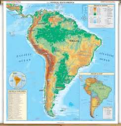 south america map with mountains mapincar map of america rivers