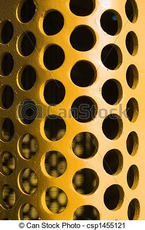 hole pattern en francais stock photography of large yellow hole pattern curved pl