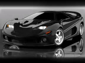 black sports car automotive car center