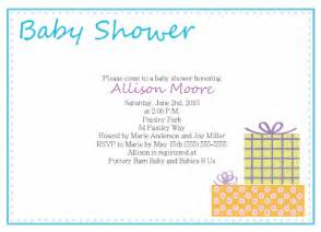 email baby shower invitations template best template collection