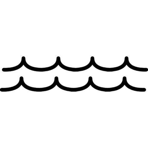 inland nature sea lake river sea water wave icon