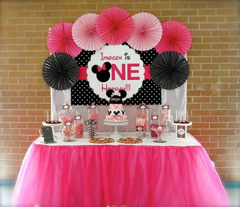 Minnie Mouse St Birthday Decorations by Minnie Mouse Birthday Wish