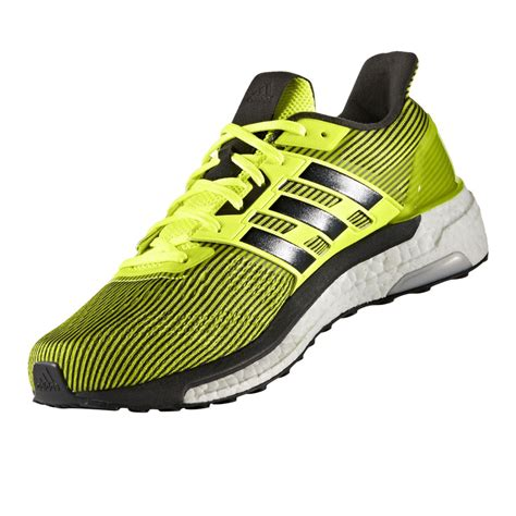 adidas road running shoes adidas supernova mens yellow sneakers running road sports