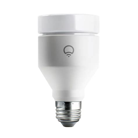 wi fi led light bulbs gateway to the smart home mit lifx 75w equivalent a19 multi color dimmable wi fi smart