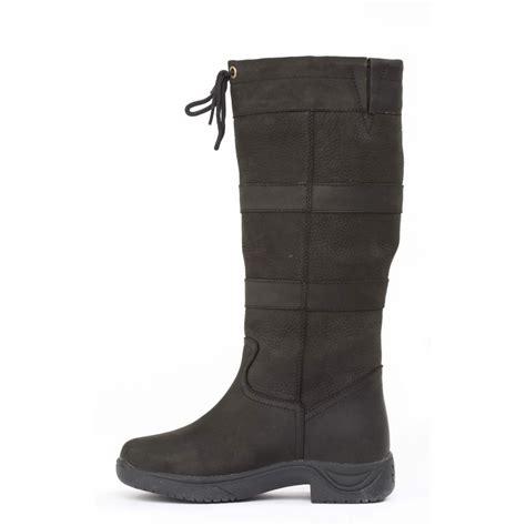 dublin river boot waterproof boots black redpost