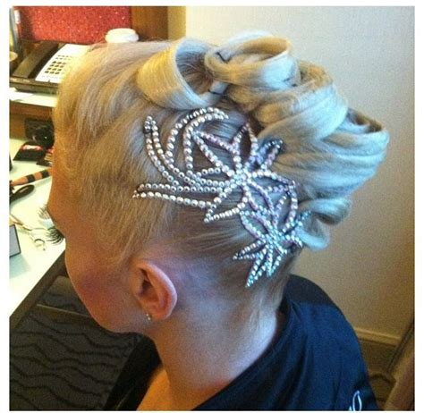 ballroom hair pieces ballroom hair for dance competition backwards and in