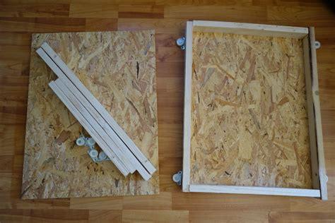 schubladenauszug unter der schublade haushaltstipps eine rollschublade unterschrankschublade