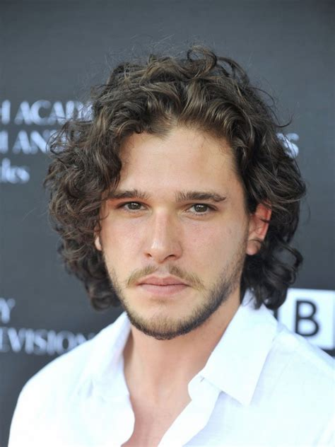 Hairstyle Kit by Kit Harington Curly Hairstyle Hairstyle Ideas For