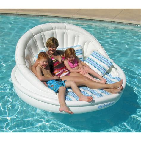 swimline aqua sofa swimming pool lounge 15135hr the home