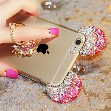 Samsung A310 3d Mickey Mouse Ear With Stand Holder Phone Cov T19 buy luxury 3d bling glitter mickey mouse ears