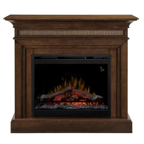 Dimplex Harleigh 44 In Electric Fireplace In Walnut Dimplex Electric Fireplace