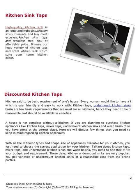 kitchen sink australia kitchen sink taps australia