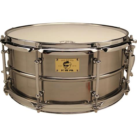 pork pie drum rug pork pie percussion 6 5 quot x 14 quot pig iron snare drum in polished finish pp6 5x14pir